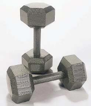 Pro Hexhead Dumbbell - 50 lbs.