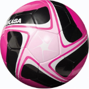 Mikasa SCE Soccer Ball - Pink/Black/White (Size 5)