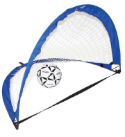 "Extreme Soccer Pop-Up Goals - 48""W x 32""H x 32"" Base"