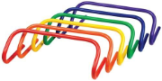 "6"" Colored Speed Hurdles - Set of 6"