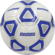 Brine Attack Soccer Ball (Blue/White) - Size 4