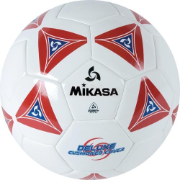Mikasa SS40 Series Soccer Ball - Red (Size 4)