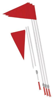 Safety Soccer Flags - Set of 4