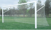 "24' ShootOut 4"" Aluminum Soccer Goals w/ European Backstays"