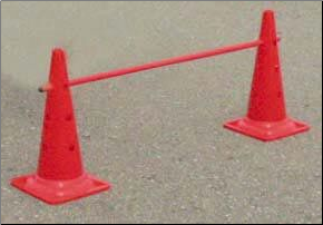 "20"" Hurdle Cones Set"