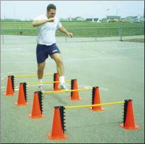 Hurdle Riser Cones - Set of 4