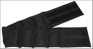 Adult Weighted Waist Belt - 12 lbs.