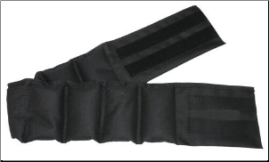 Adult Weighted Waist Belt - 15 lbs.