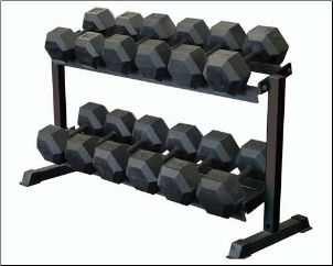 Dumbbell Rack - 2 Tier (55 lbs)
