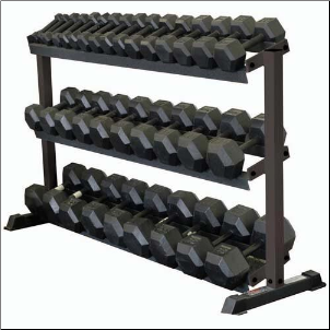 Dumbbell Rack - 3 Tier (115 lbs.)