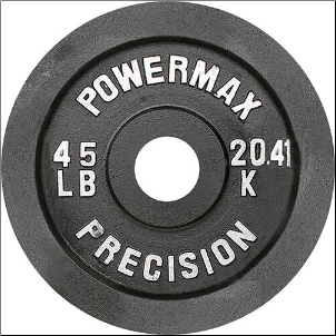 Olympic Weight Plate - 45 lbs.