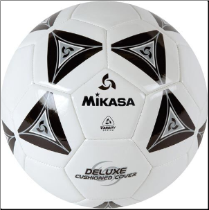 Mikasa SS40 Series Soccer Ball - Black (Size 4)