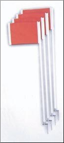 Official Corner Flags w/ Springs